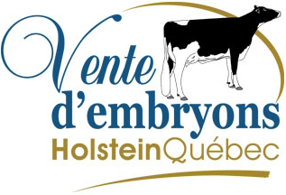 Vente d'embryon Holstein Québec