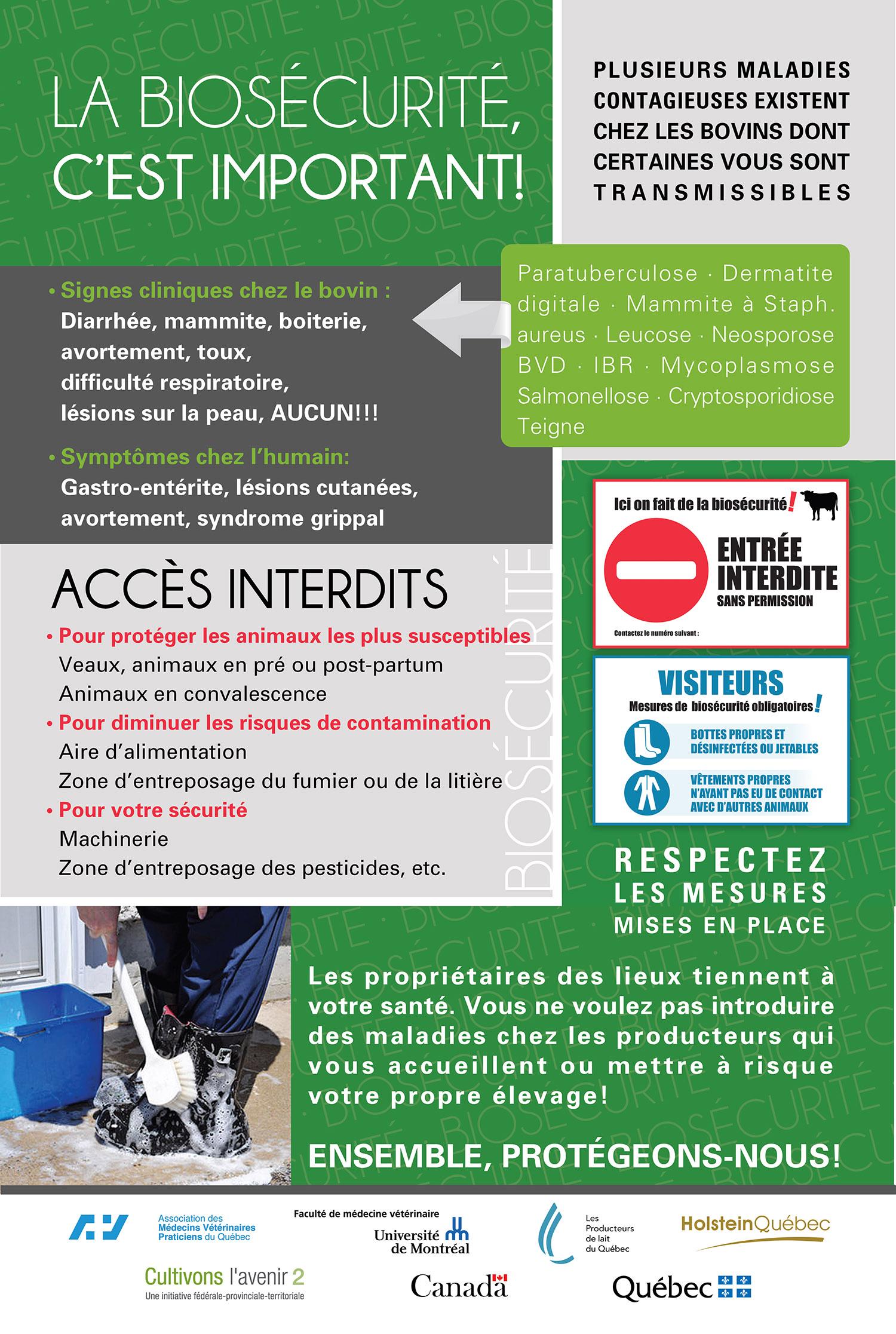 Biosecurity – Holstein Québec